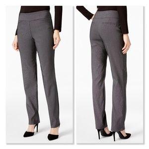 Charter Club Cambridge Patterned Slim-Leg Pants